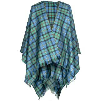 Tartan Serape, Light Weight Premium Wool (Tartan list A & B)