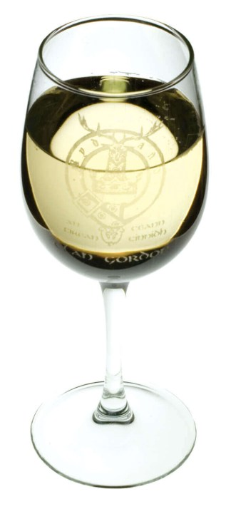 Clan Crest Wine Glasses
