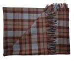 OUTLANDER Lambswool Tartan Blanket