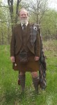 Tweed Jacket and Vest Set