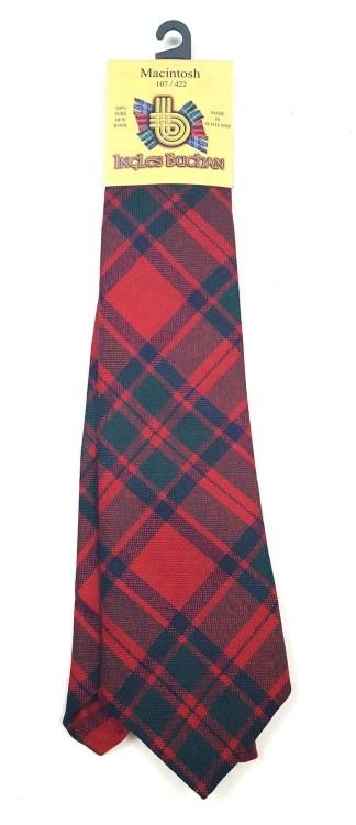MacIntosh Premium Wool Tartan Tie