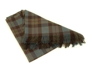 OUTLANDER Throw Poly/Viscose Tartan