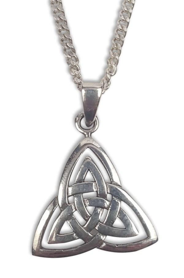 Triskle Knot Necklace
