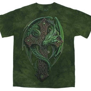 Celtic Cross Dragon T-shirt