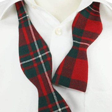 Traditional Self Tie Tartan Bow Ties, Spring Weight