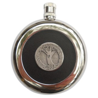 Celtic Tree Flask