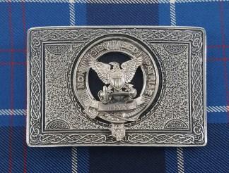 U.S. Navy Pewter Kilt Belt Buckle