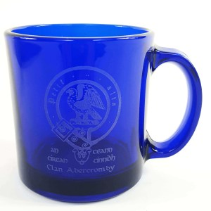 Abercromby Clan Crest Engraved Coffee Mug