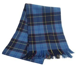 U.S. Air Force Premium Wool Tartan Scarf