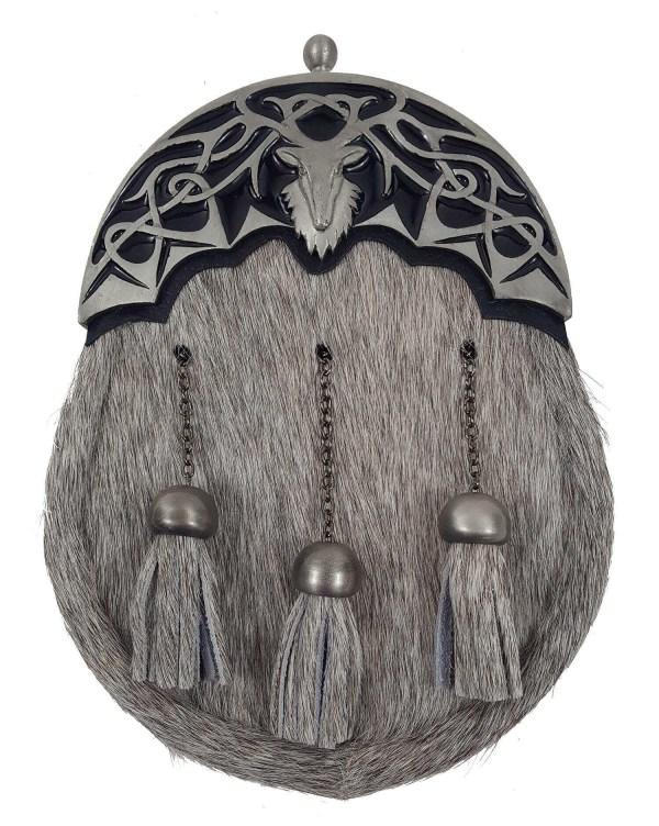 Antiqued Stag Knot Dress Sporran