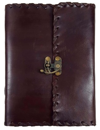 Plain Leather-Bound Journal