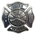 Fire Rescue Fire Fighter Cap Badge/Brooch