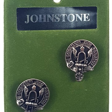 Clan Crest Pewter Cufflinks