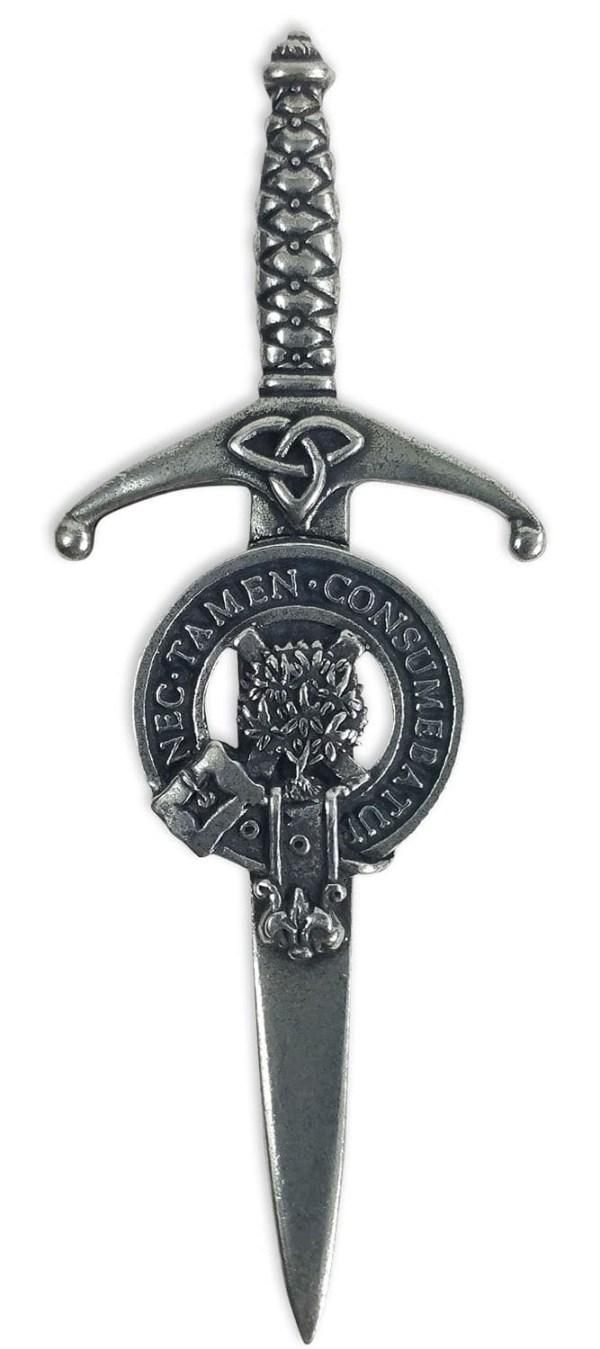 Clergy Clan Crest Kilt Pin