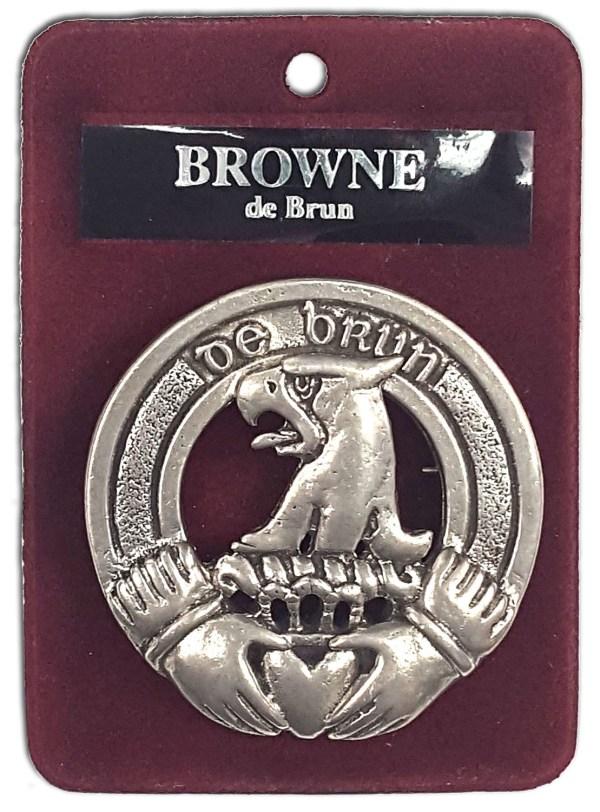 Irish Family Crest Cap Badge/Brooch