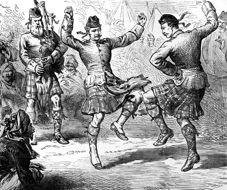 Scottish Reel - Cairo. Date: late 19th century