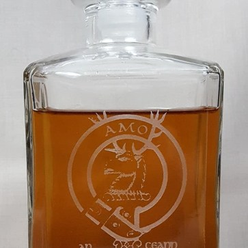 MacKinlay Clan Crest Decanter