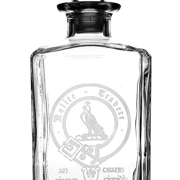 CCD-CL-1765 Bell Clan Crest Decanter