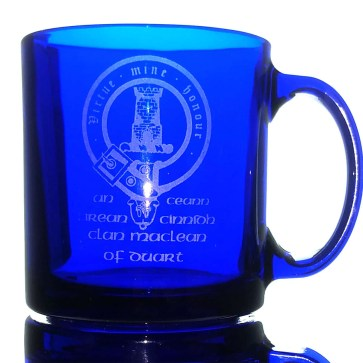 CCT18-CL-1775 MacLean of Duart Clan Crest Mug