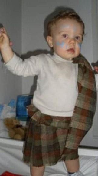 Small Ancient Kid Kilt