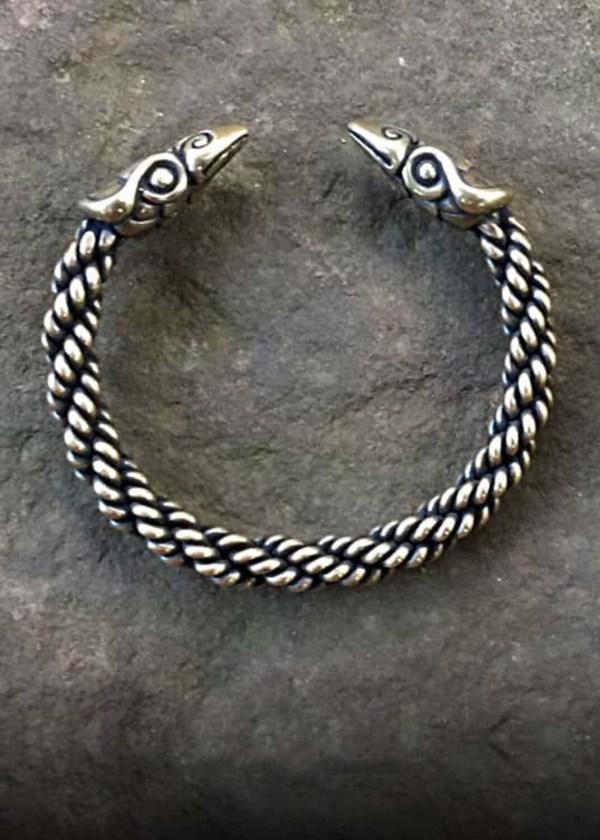 Raven Bracelet Medium Braid