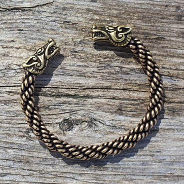 Wolf Bracelet Medium Weight