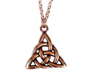 Copper Triskle Necklace