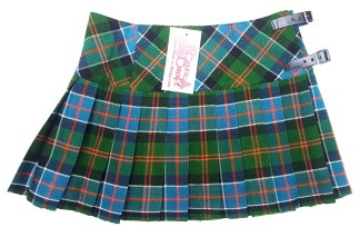 LKMHS-IS-1807 Sinclair Ancient Homespun Mini Skirt
