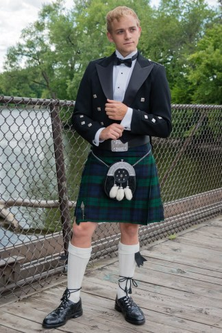 Silver Package Prince Charlie Formal Kilt Rental