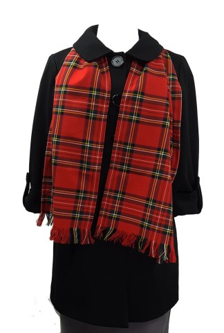 Stewart Royal Poly/Viscose Tartan Scarf