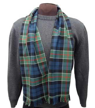 Colquhoun Ancient Poly/Viscose Tartan Scarf