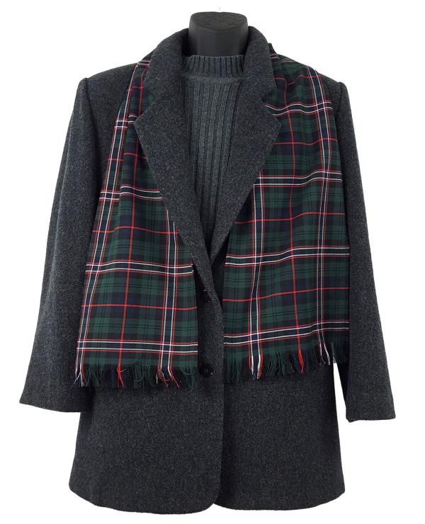 Scottish National Poly/Viscose Tartan Scarf