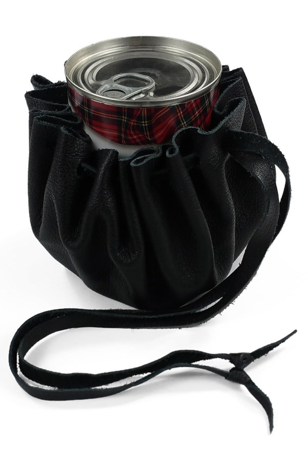 Small Leather Pouch as a Haggis Holster