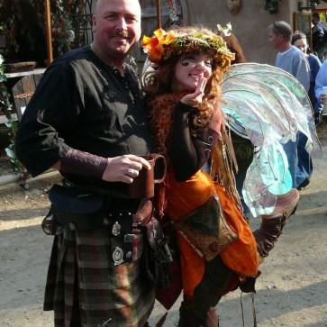 happy customer Scott Inman wearing his Braveheart Phillabeg