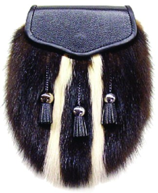 Skunk Fur Sporran