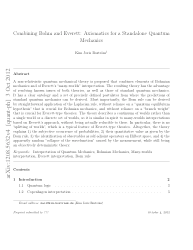 Combining Bohm and Everett: Axiomatics for a Standalone Quantum Mechanics