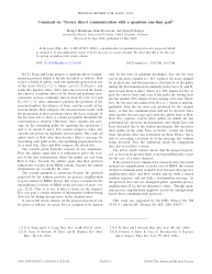 """Comment on """"Secure direct communication with a quantum one-time pad"""""""