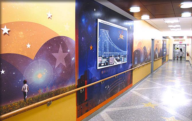 KimakDesign  James Kimak  Healthcare and Public Space Murals  8455961213  Murals  Photography