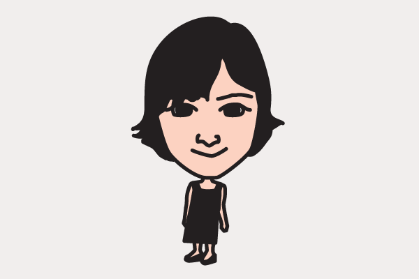 広末涼子の似顔絵画像