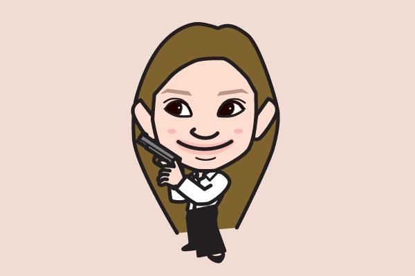 篠原涼子の似顔絵画像