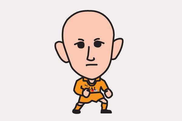 田坂和昭の似顔絵画像