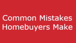 mistakes hombeuyers make