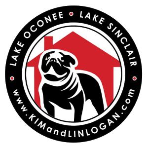 Lake Oconee and Lake Sinclair Car Magnet