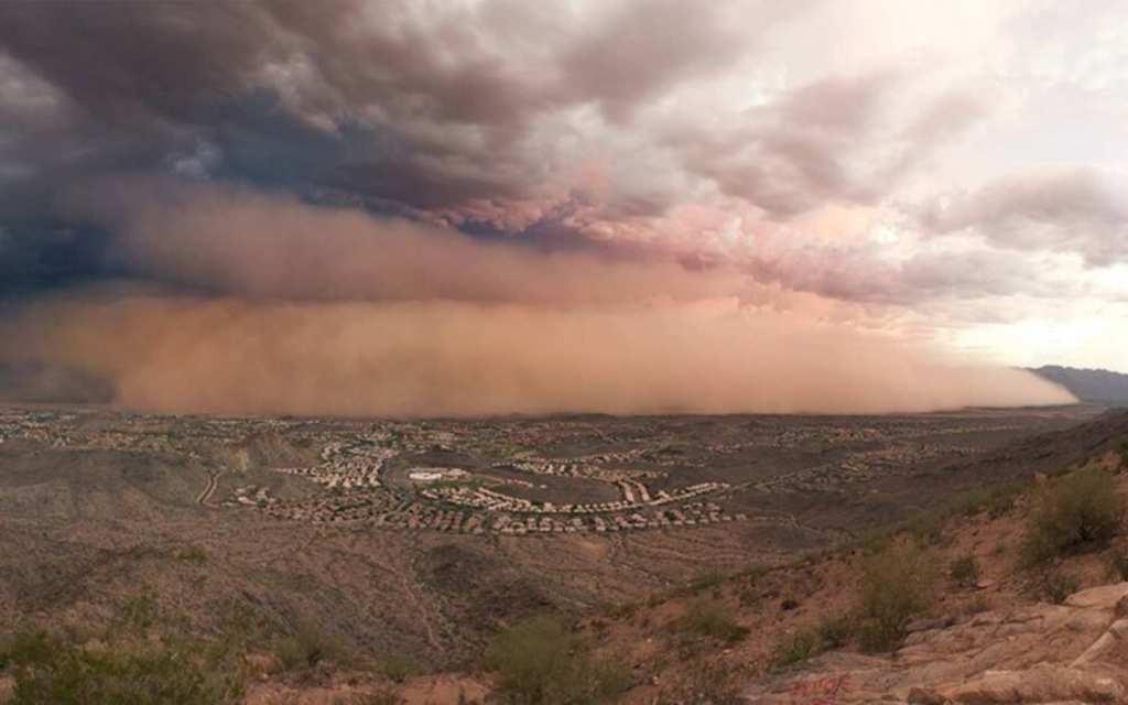 Haboob in Tucson, AZ