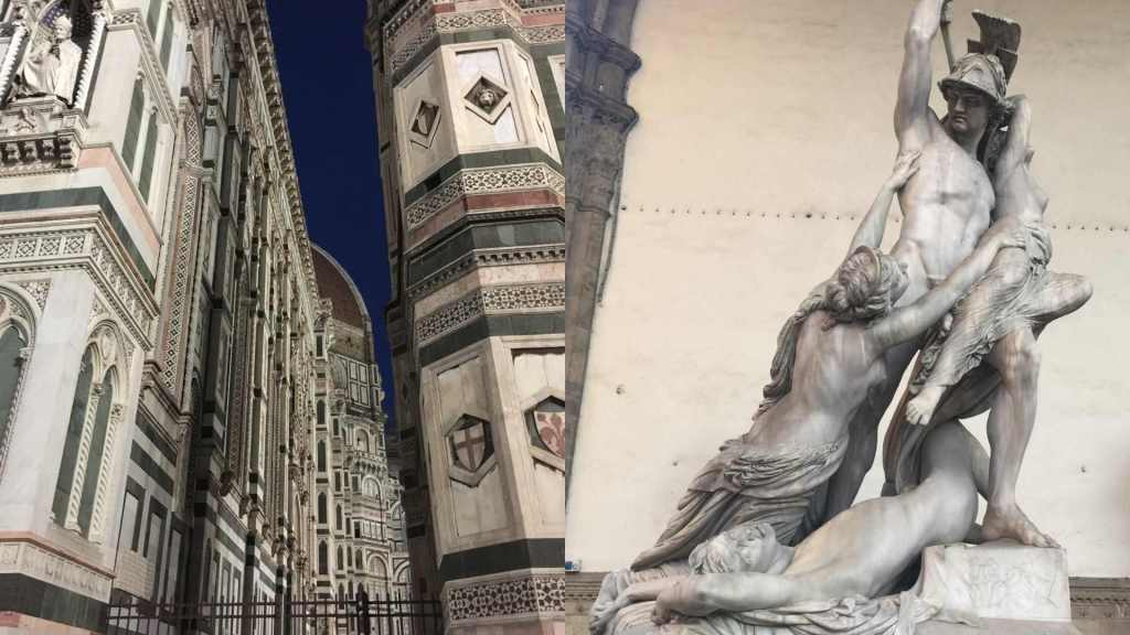 Great art and architecture in Florence, Italy