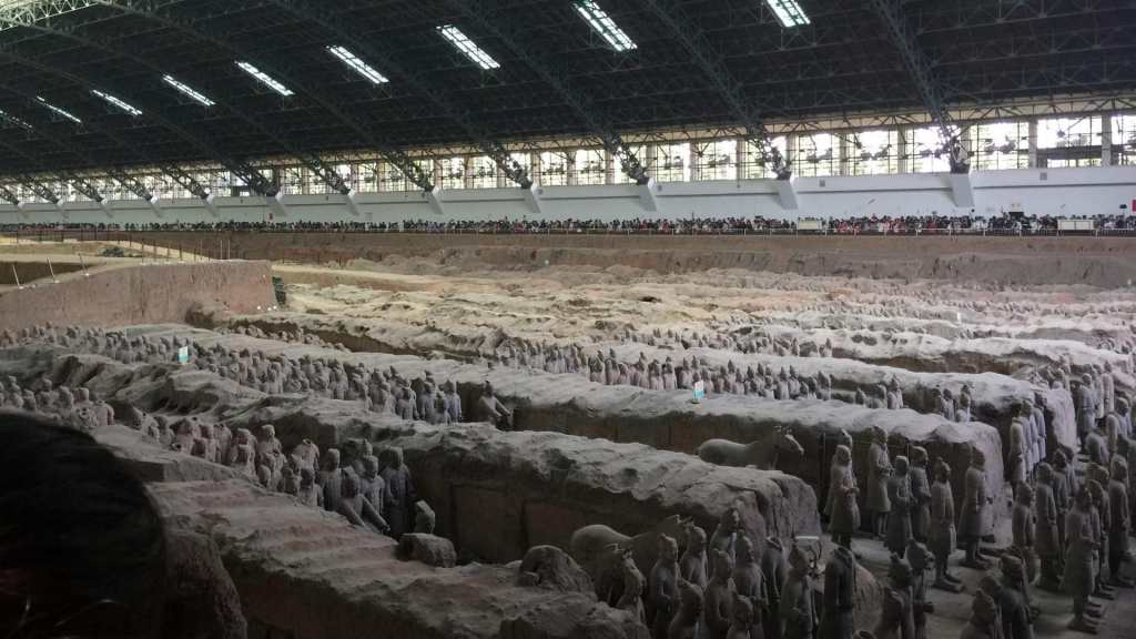 Terracotta Warriors in Xi' An, China