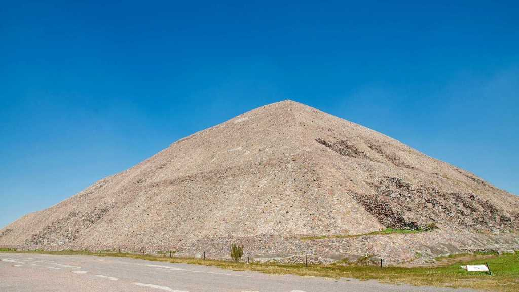 The Pyramid of the Sun at Teotihuacan, Mexico