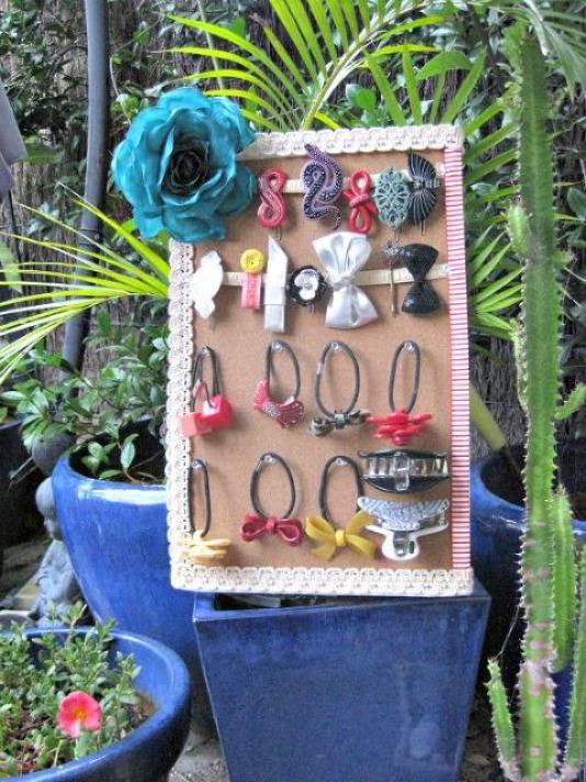 Hair Accessory Stand