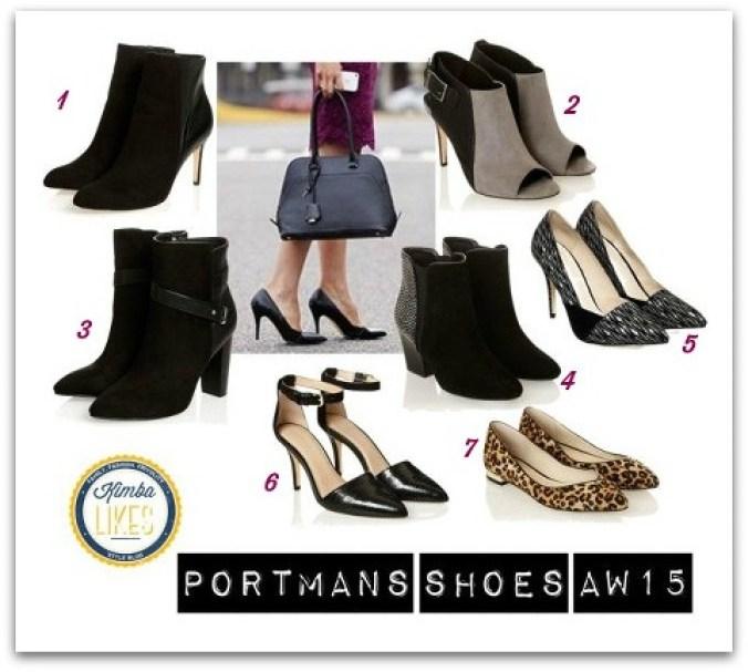 Happy Shoesday! All about Portmans shoes for AW15 @kimbalikes #kimbalikes kimbalikes.com
