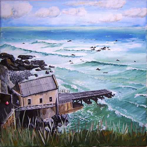 Lizard Point, Cornwall | The World of C W Brown
